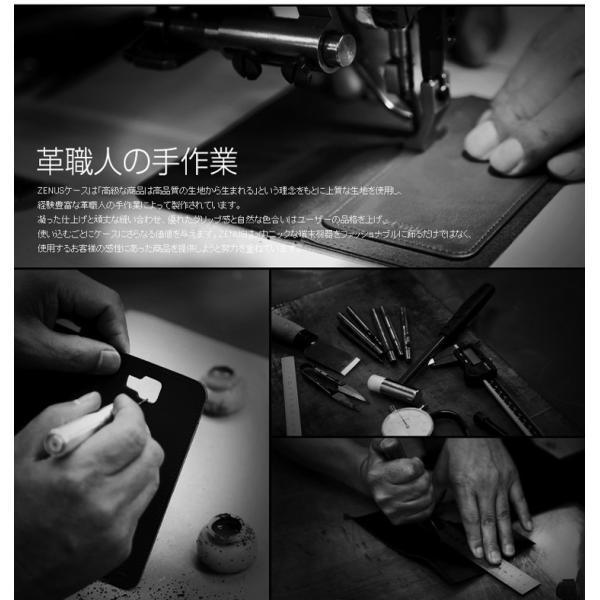 お取り寄せ Xperia X Performance ケース 手帳型 ZENUS Minimal Diary ゼヌス ミニマルダイアリー SO-04H SOV33 502SO 本革|option|03