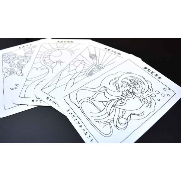 日本の神様カード ぬり絵|oracle-tarot|06