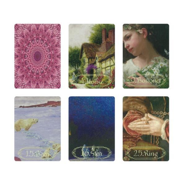 Artistic Lenormand(アーティスティック・ルノルマン) 〈新装版〉|oracle-tarot|02
