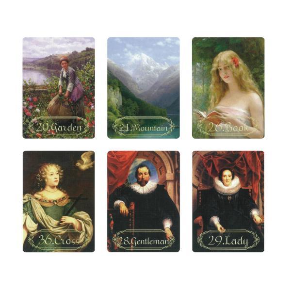 Artistic Lenormand(アーティスティック・ルノルマン) 〈新装版〉|oracle-tarot|04