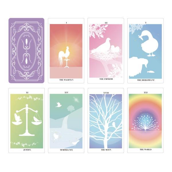 バード・シルエット・タロット〜THE BIRD SILHOUETTE TAROT〜|oracle-tarot|02