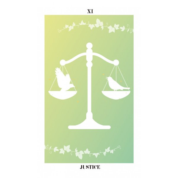 バード・シルエット・タロット〜THE BIRD SILHOUETTE TAROT〜|oracle-tarot|13