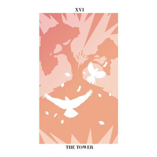バード・シルエット・タロット〜THE BIRD SILHOUETTE TAROT〜|oracle-tarot|18