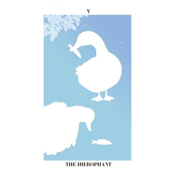 バード・シルエット・タロット〜THE BIRD SILHOUETTE TAROT〜|oracle-tarot|08