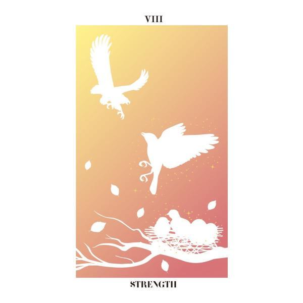 バード・シルエット・タロット〜THE BIRD SILHOUETTE TAROT〜|oracle-tarot|10