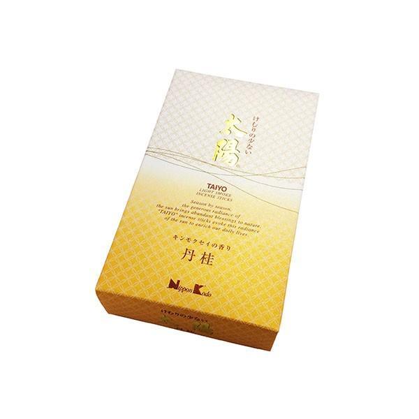 お線香 日本香堂 太陽 丹桂 キンモクセイの香り 約190g