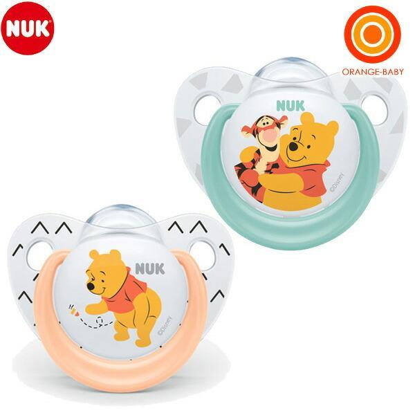 NUK(ヌーク) おしゃぶり(消毒ケース付き)/6-18カ月くまのプーさん