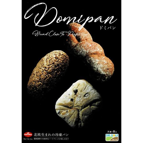 送料無料(東北〜中部) 北欧パン デルソーレ 冷凍パン 2個セット カラマタオリーブ入り/スペルト小麦ビートルートの手編み/ライ麦入りダークグレイン