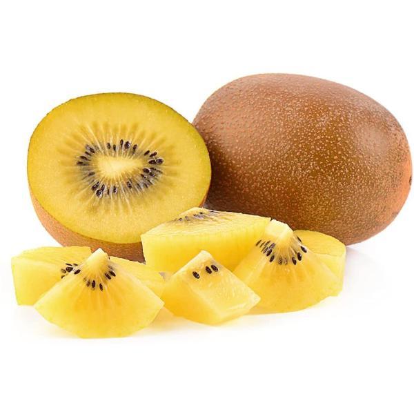 送料無料(東北〜中部) フローズンフルーツ ゴールドキウイ(ブロックカット) 500g 冷凍フルーツ 果物 高品質冷凍