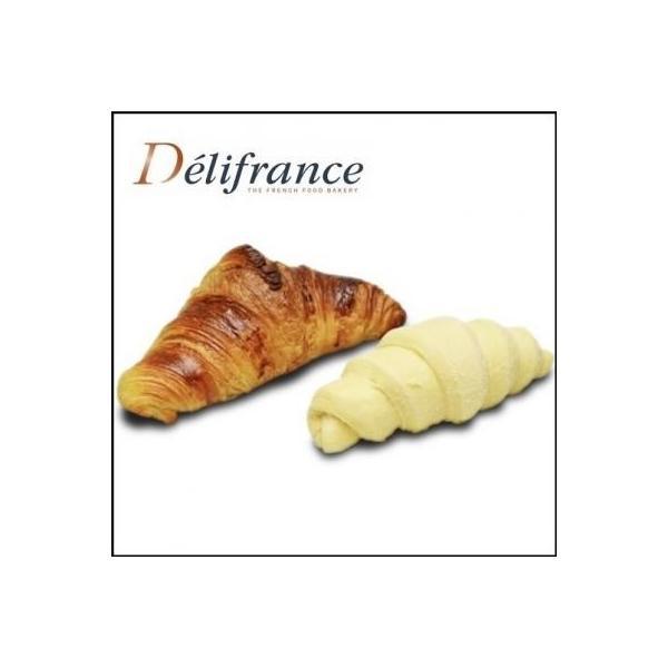 送料無料(東北〜中部) クロワッサン70gフランス産/メープルピーカン98g 冷凍パン 解凍不要 発酵不要 塗り卵も不要 エリタージュ 冷凍パン生地