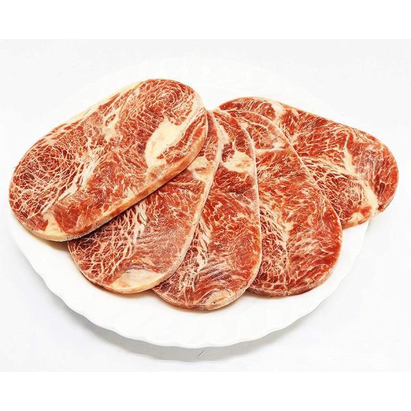 送料無料(東北〜中部)牛肉 サーロインステーキ (牛脂注入加工品)100g×5枚 まとめ買い 冷凍