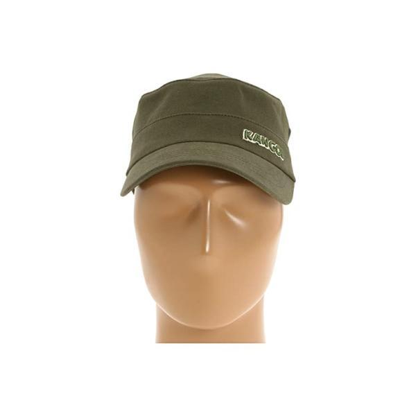 カンゴール Kangol Cotton Twill Army Cap レディース 帽子 Army Green