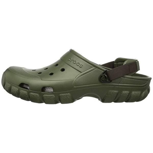 クロックス Crocs Off Road Sport Clog レディース クロッグ ミュール Army Green/Espresso