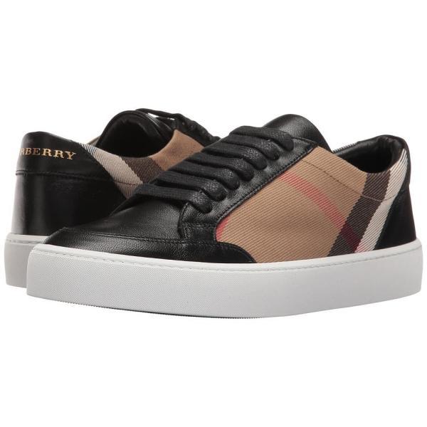 バーバリー Burberry Salmond レディース Casual and Fashion Sneakers HC/Black