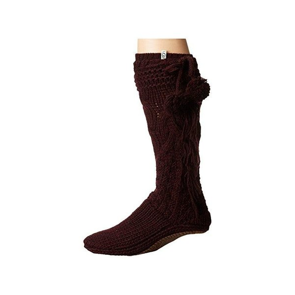 アグオーストラリア UGG Cozy Slipper Socks レディース スリッパ スリッポン Port Heather