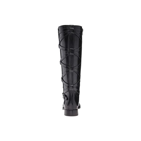 フライ Frye Jordan Strappy Tall レディース ブーツ Black Smooth Veg Calf