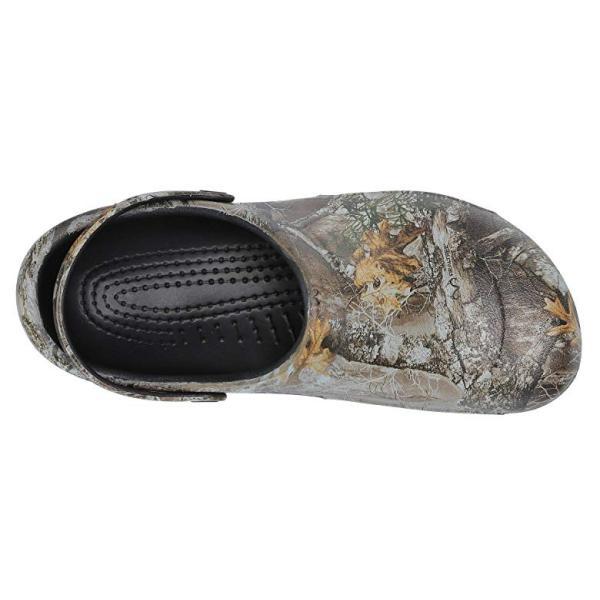 クロックス Crocs Bistro Realtree Edge Clog レディース クロッグ ミュール Khaki/Black
