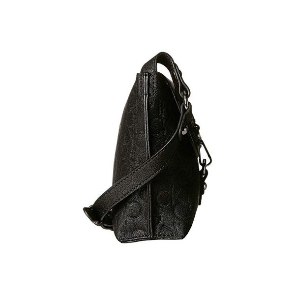 カルバン・クライン Calvin Klein Reversible Pebble PYC Crossbody レディース ハンドバッグ かばん Black