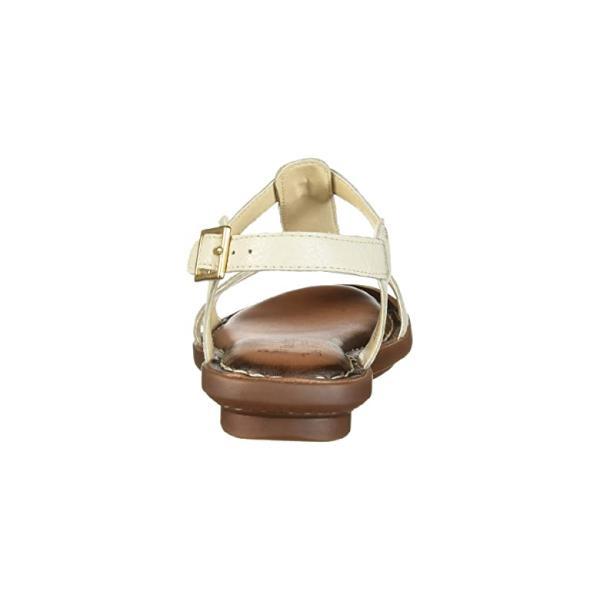 ハッシュパピー Hush Puppies Olive T-Strap レディース フラットシューズ Birch Leather