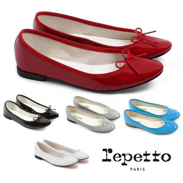 クリアランス/Repetto(レペット) サンドリオン バレエシューズ Cendrillon パテントレザー エナメルパンプス フラットシューズ 革靴