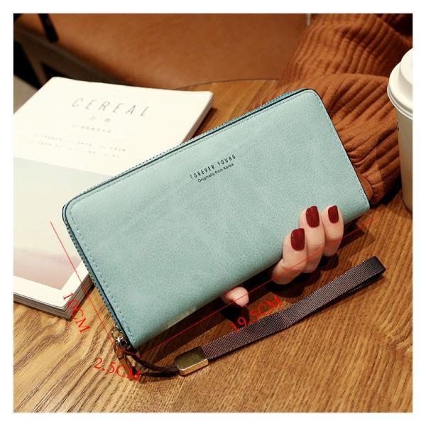 長財布 財布 大容量 レディース お財布 おしゃれ サイフ カード入れ 使いやすい ポイントカード クレジットカード 収納 ケース|orangecoco|02