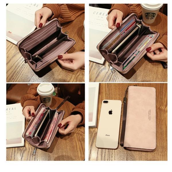 長財布 財布 大容量 レディース お財布 おしゃれ サイフ カード入れ 使いやすい ポイントカード クレジットカード 収納 ケース|orangecoco|05
