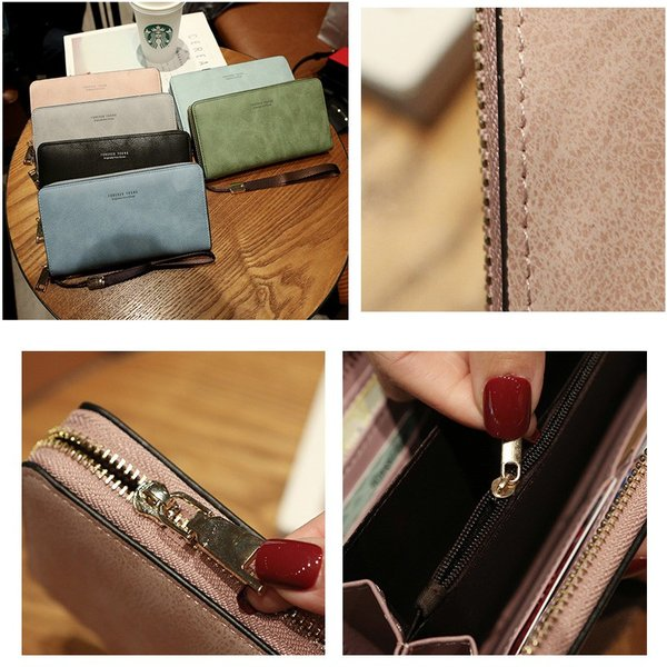 長財布 財布 大容量 レディース お財布 おしゃれ サイフ カード入れ 使いやすい ポイントカード クレジットカード 収納 ケース|orangecoco|06