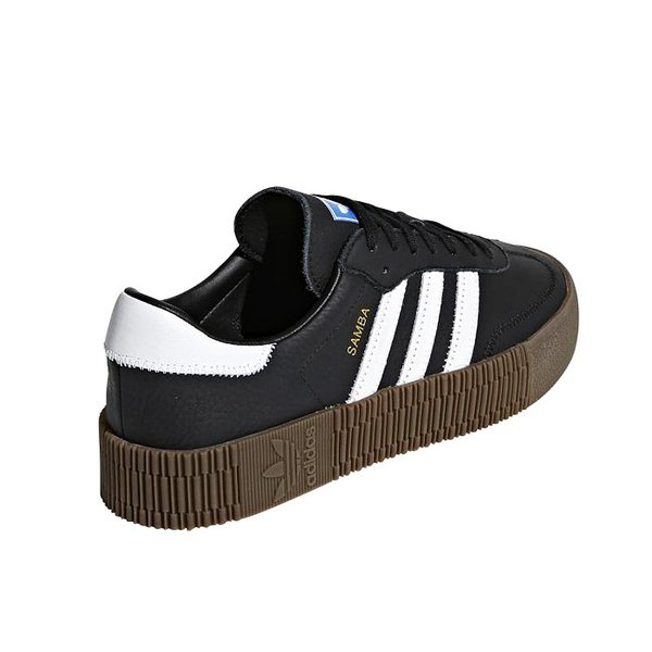 送料無料 アディダス オリジナルス サンバ ウィメンズ レディース スニーカー レザー シューズ 靴 ブラック ホワイト ガム adidas originals SAMBAROSE W B28156 2019春夏新作 送料無料