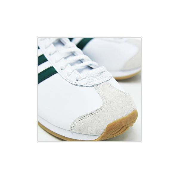 アディダス オリジナルス カントリー スニーカー レディース メンズ 白 緑 ホワイト グリーン adidas Originals COUNTRY OG G26687|orangecounty|02