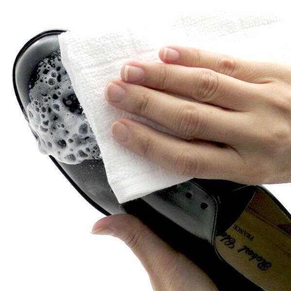 靴磨きセット・シューケアセット JEWEL お手軽&簡単 靴磨きセット(バッグお財布OK)