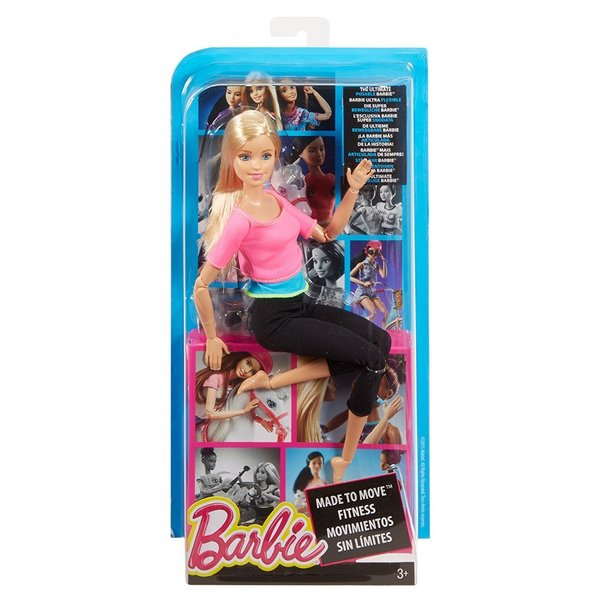 バービー Barbie メイドトゥームーブ ドール ピンクトップ DHL82  着せかえ人形 Made to Move Doll, Pink Top 並行輸入品 orangepeel 06