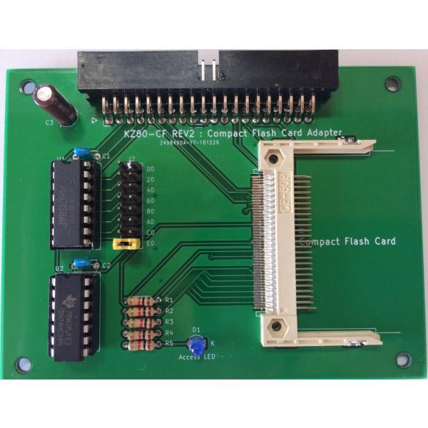 Z80 コンパクトフラッシュアダプター ボード (KZ80_CF) 専用基板|orangepicoshop