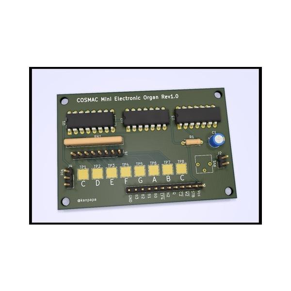 COSMAC ミニ電子オルガンシールド 専用プリント基板|orangepicoshop