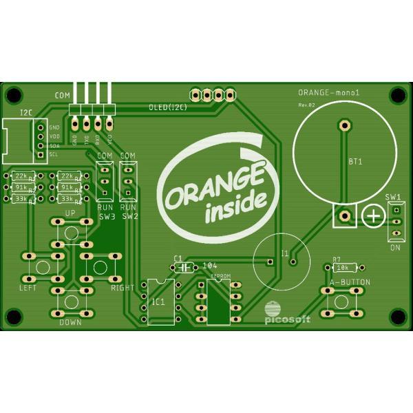 ORANGE-mono1 専用基板|orangepicoshop