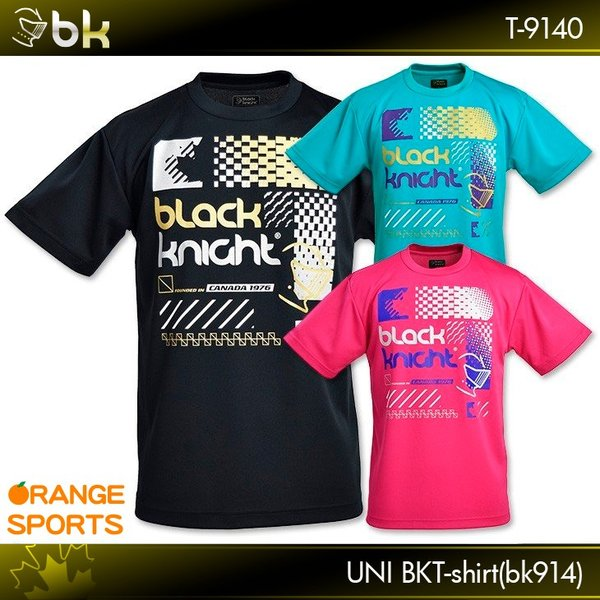 2f67a7551b96 black knight ブラックナイト BKTシャツ(bk914) T-9140 バドミントン テニス スカッシュ T