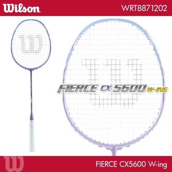 ウイルソン バドミントンラケット フィアース CX5600 W-ing FIERCE CX5600 W-ing WRT8871202|orangesports