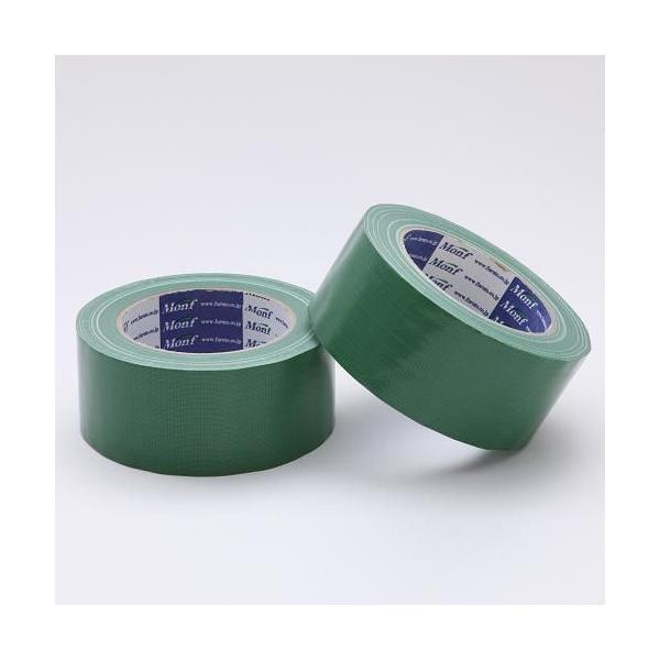 Monf カラー布粘着テープ/No.890 0.22mm×50mm×25m 緑