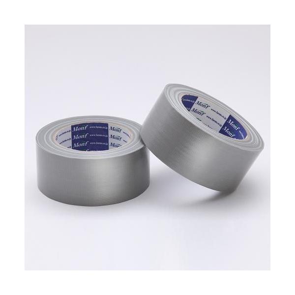 Monf カラー布粘着テープ/No.890 0.22mm×50mm×25m 銀
