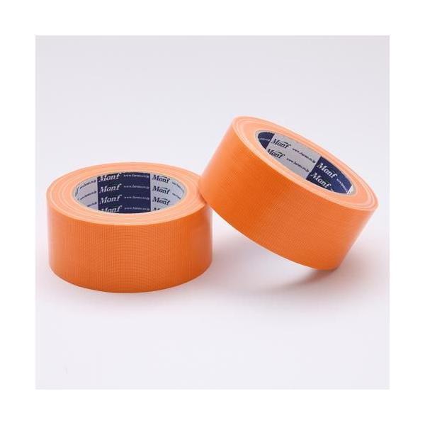 Monf カラー布粘着テープ/No.890 0.22mm×50mm×25m オレンジ