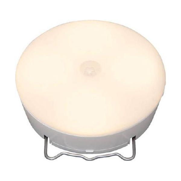 アイリスオーヤマ 乾電池式LED屋内センサーライト ホワイト マルチタイプ 電球色/BSL40MLW