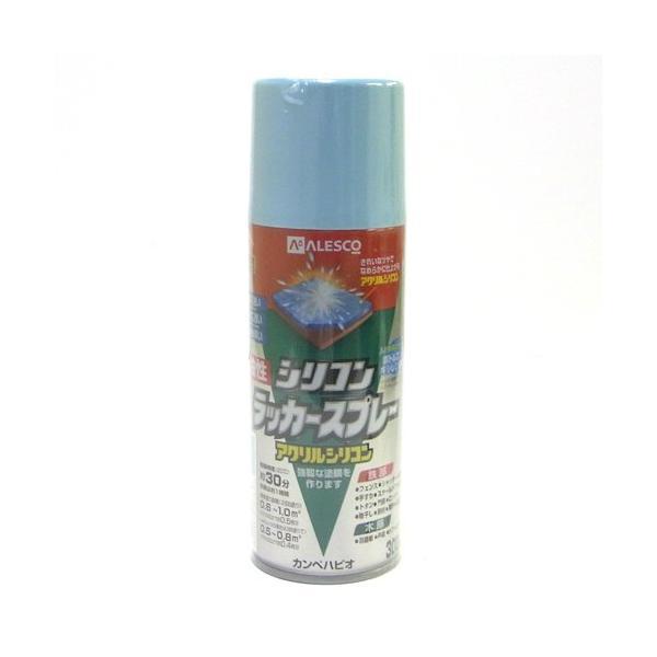 カンペハピオ 油性シリコンラッカースプレー/300ML ライトブルー