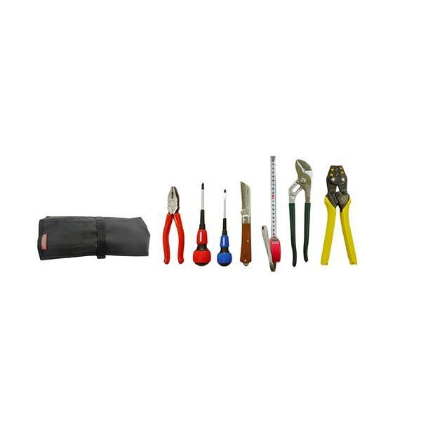 マーベル 電気工事士技能試験工具セット/MDK-17SM 巻き式タイプ