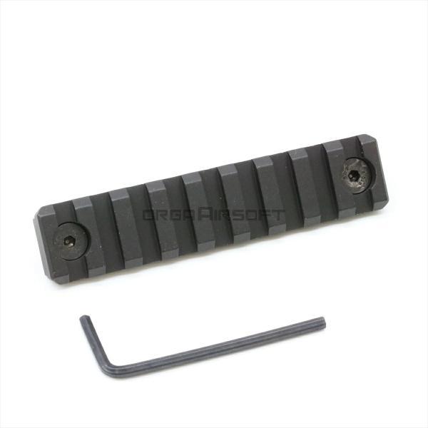NOVEL ARMS M-LOK アルミ製 レールパネル 9slot BK orga-airsoft