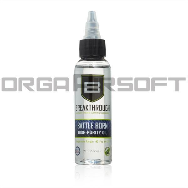 BREAKTHROUGH BATTLE BORN HP ガンオイル 潤滑用 - 60ml|orga-airsoft