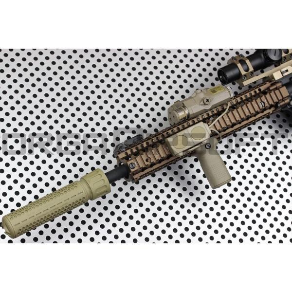Knight's Armament Airsoft 556 QDC CW(正ネジ) TAN orga-airsoft 08