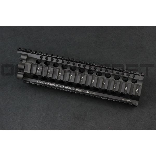 MADBULL ダニエルディフェンス Lite Rail 9inch BK ハンドガード|orga-airsoft|02