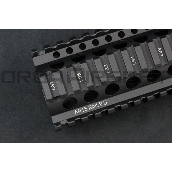 MADBULL ダニエルディフェンス Lite Rail 9inch BK ハンドガード|orga-airsoft|07