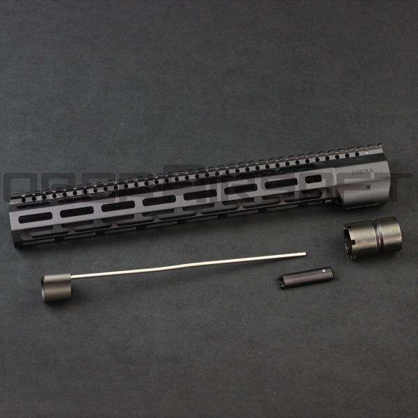 MEGA Arms ウェッジロック Rail 14inch BK|orga-airsoft