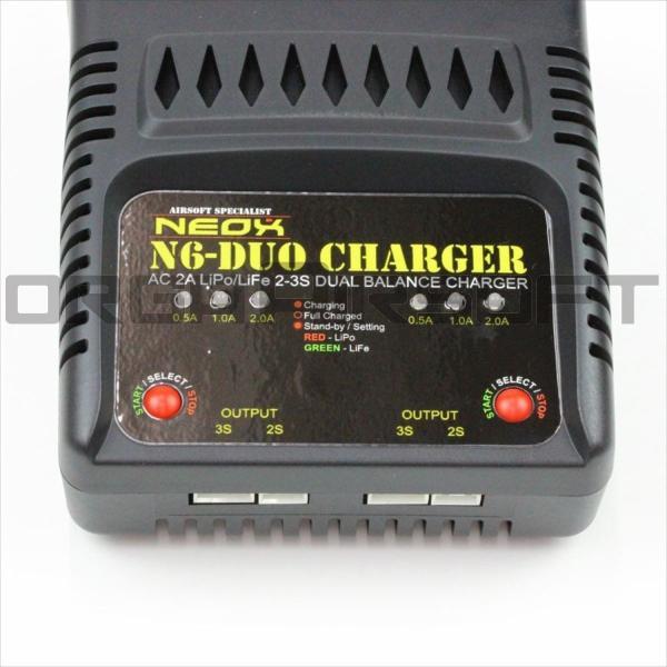 NEOX N6 DUO シンプルバランスチャージャー|orga-airsoft|02