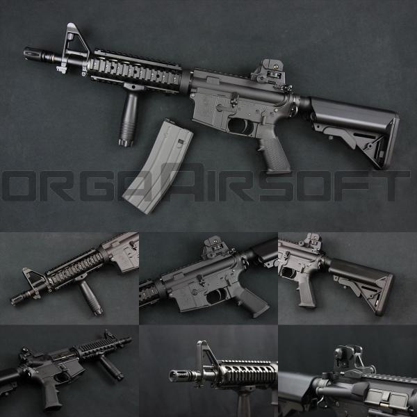 東京マルイ M4 CQB-R Block1 ガスブローバック|orga-airsoft
